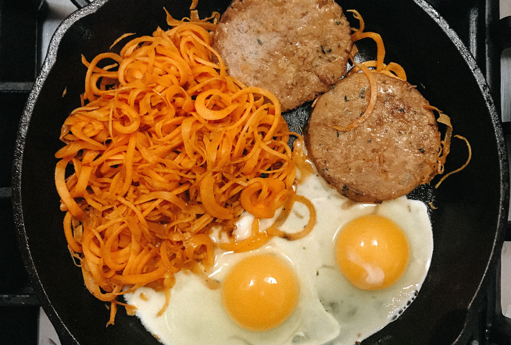 Sweet Potato & Egg Bowl