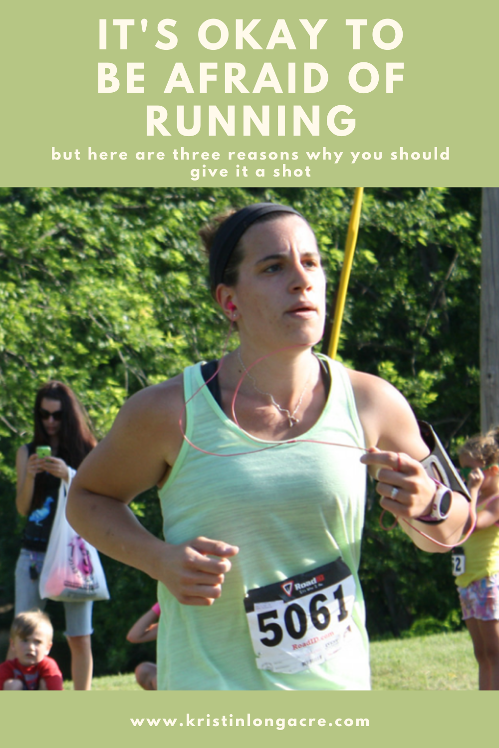 It's Okay to be afraid of running