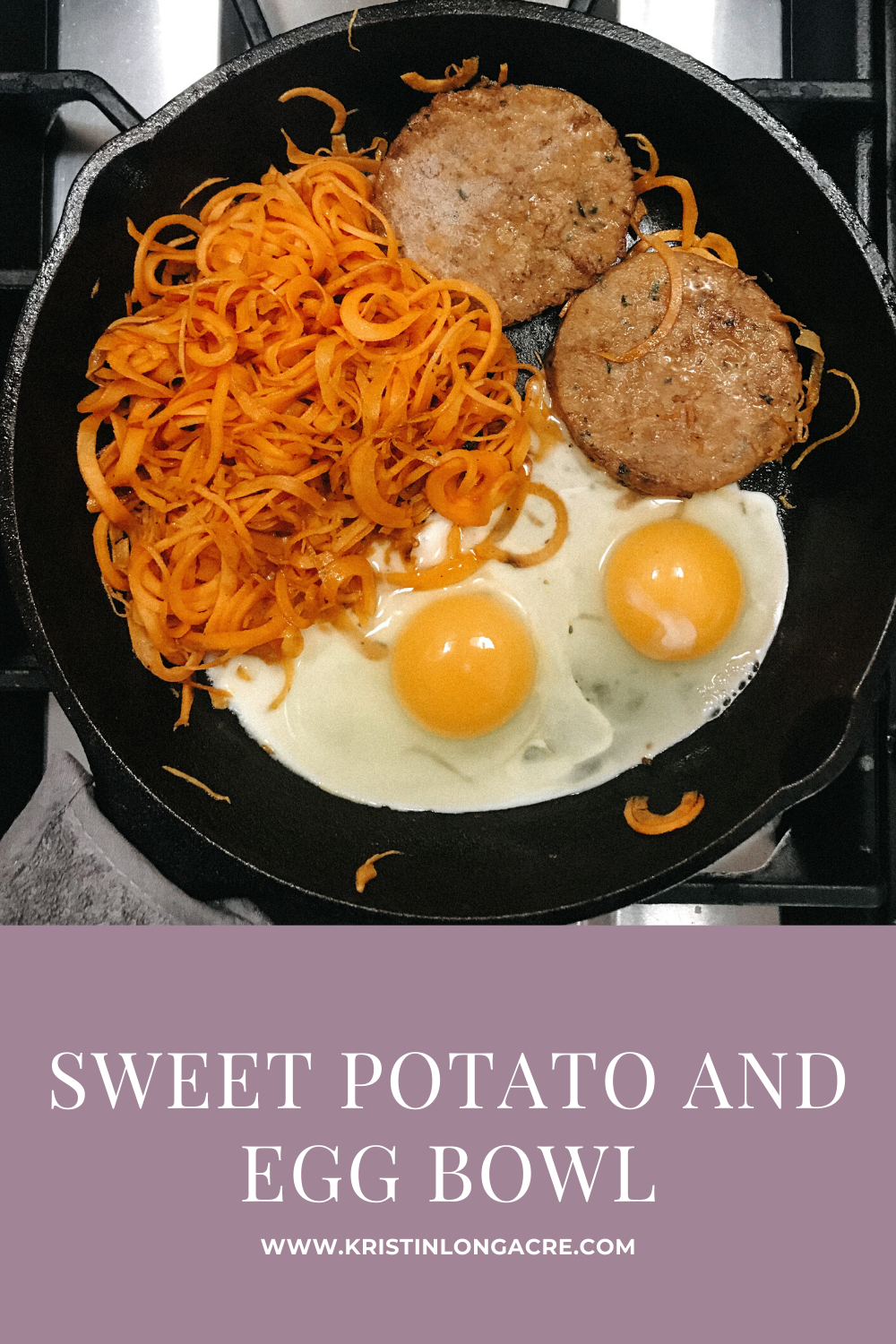 Sweet Potato and Egg Bowl