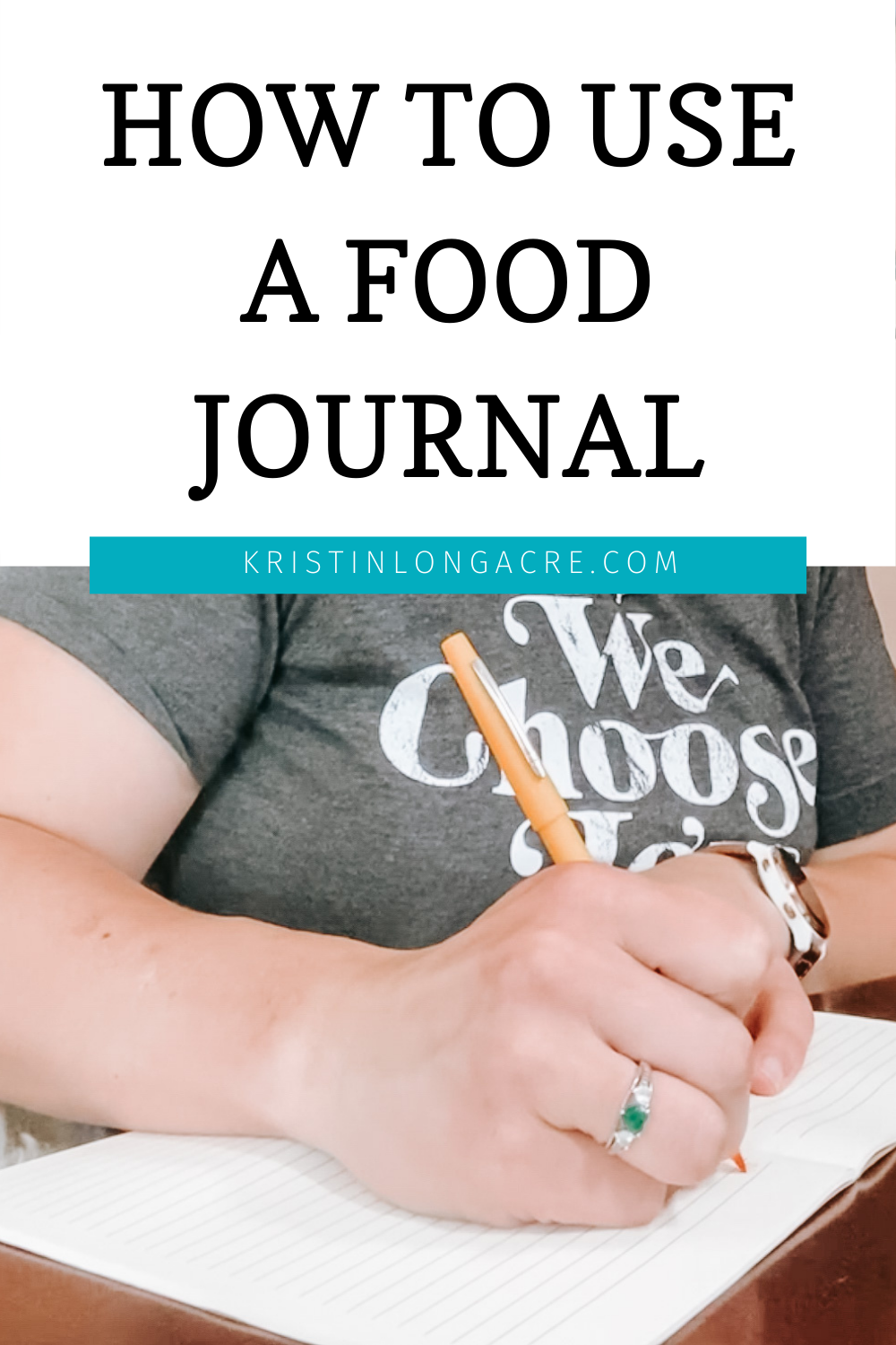 How To Food Journal